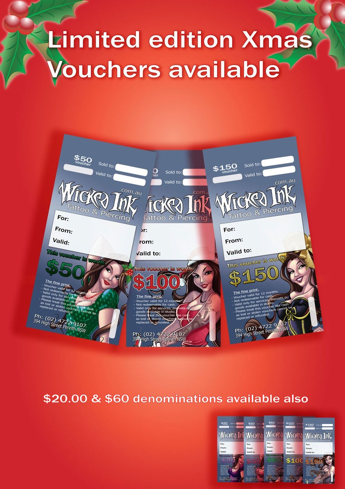 Image of $100 Christmas Voucher