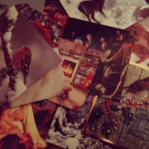 Image of Happy December Limited Edition Lyric Cards