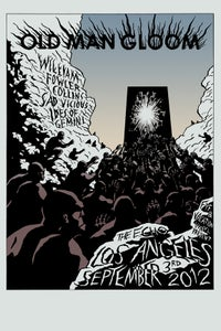 Image of OLD MAN GLOOM - 9/3/2012 screen print poster