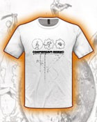 Image of NewTel Lie t-shirt WHITE