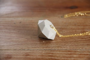 Image of Cement Diamond Necklace