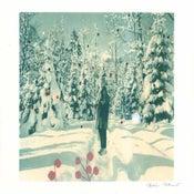 Image of snowwoman, print-The Igloo Collection # 4