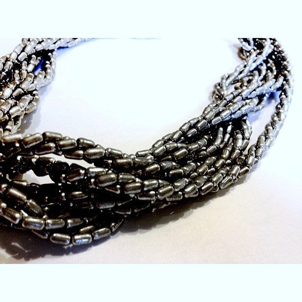 Image of Limited Edition Plait Necklace as seen on Amy Bangle #Girlfri3nds