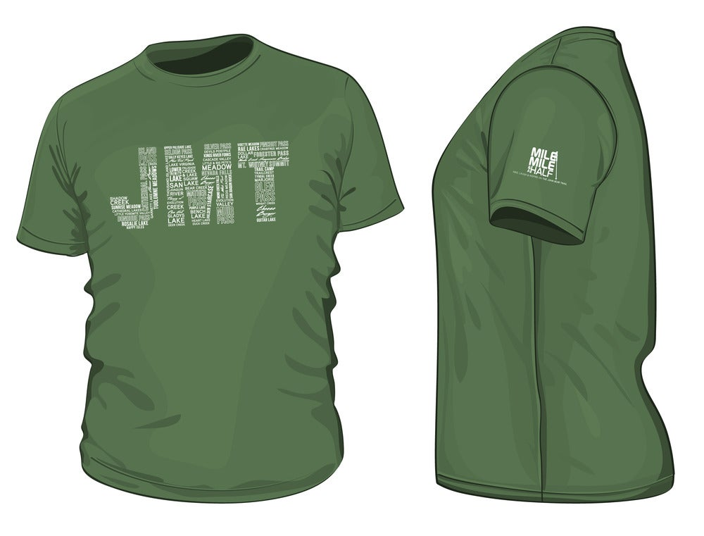 Image of Mile... Mile And A Half official JMT Tshirt