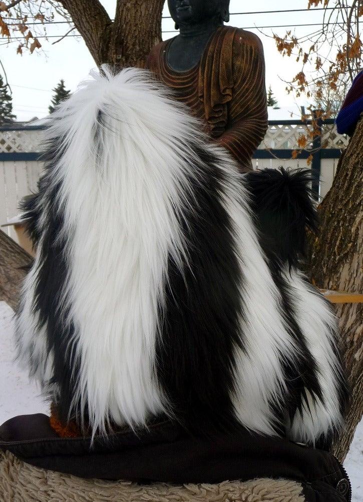 Image of Stripy Black/White Bolli Bear
