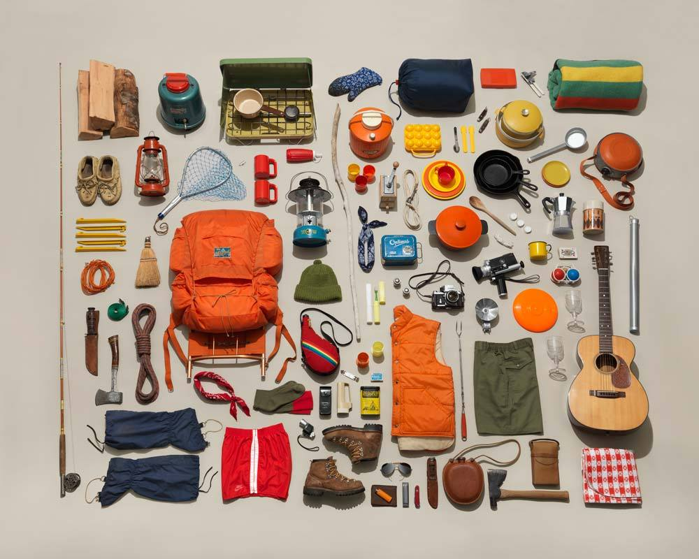 Jim Golden Studio Vintage Camping Gear Collection