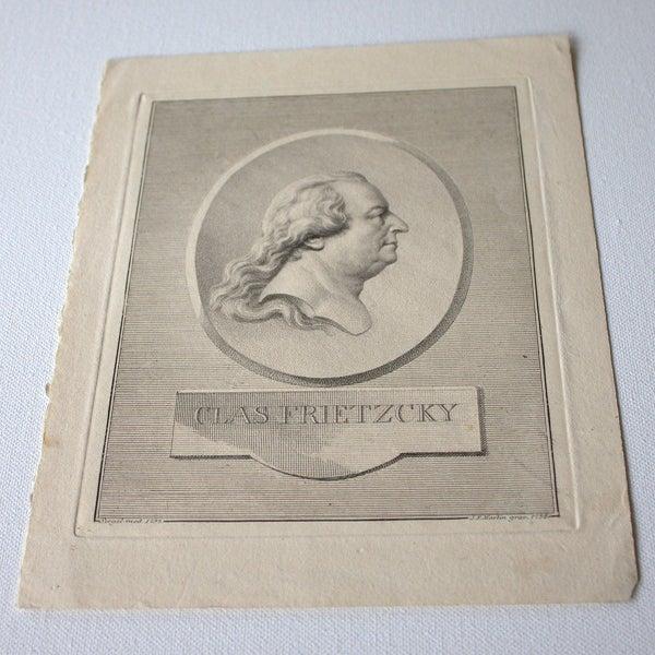 Image of Swedish Antique Engraving (1796)
