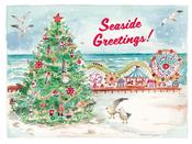 Image of Christmas Tree on Boardwalk Card