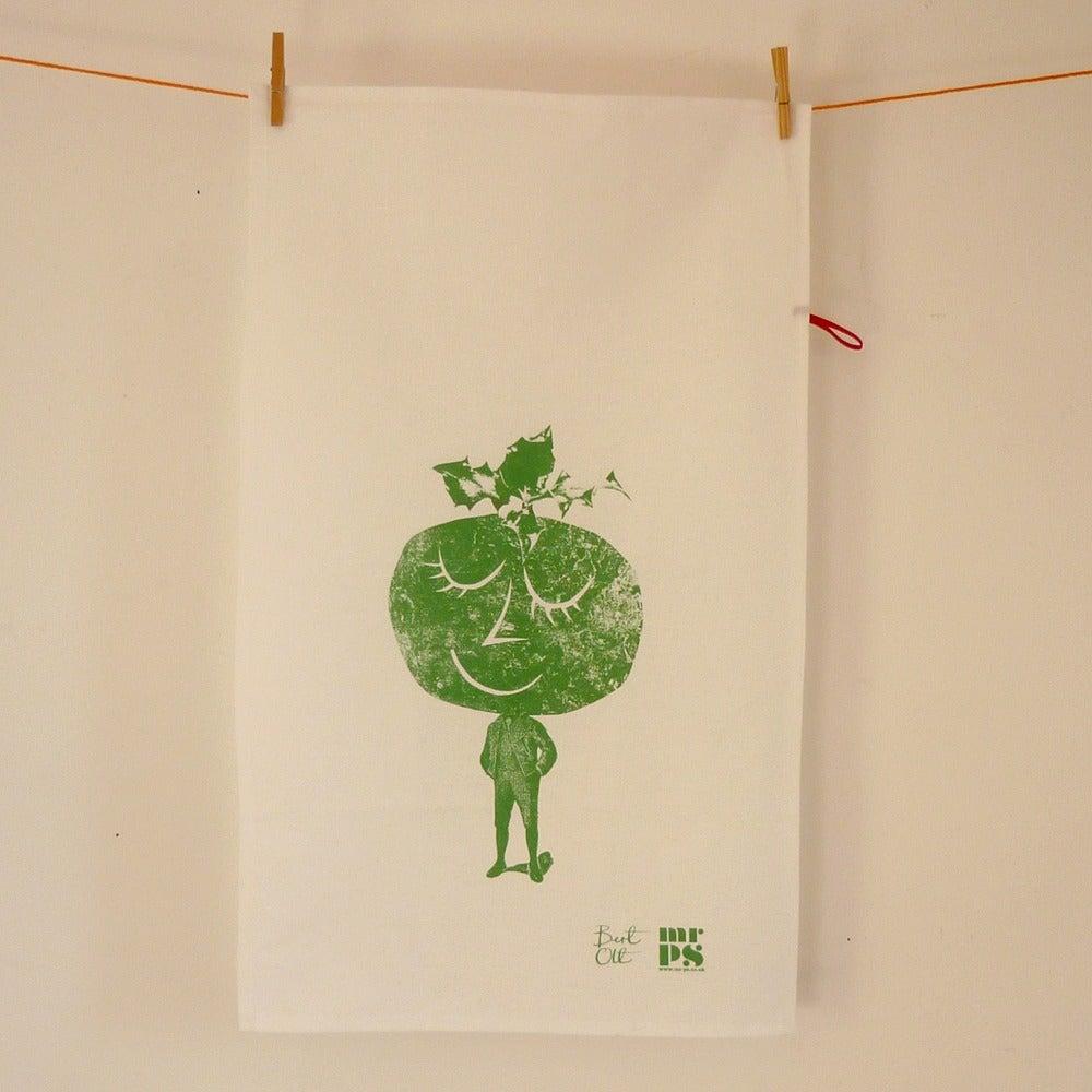 Image of Pudding Boy tea towel