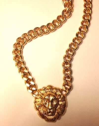 Image of Gold Lion Chain- Small