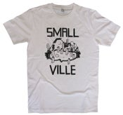 Image of Smallville Shirt Logo- white/ black