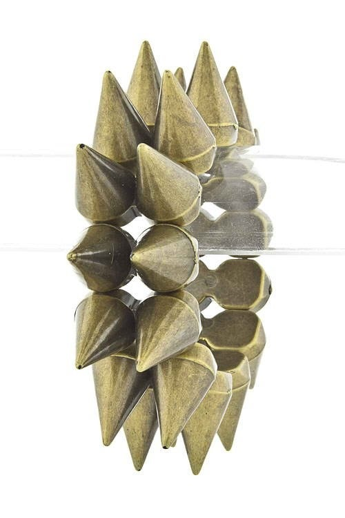 Image of Double Trouble Spike Bracelet
