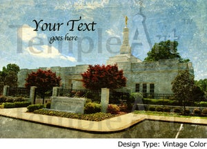 Image of Memphis Tennessee LDS Mormon Temple Art Sale 001