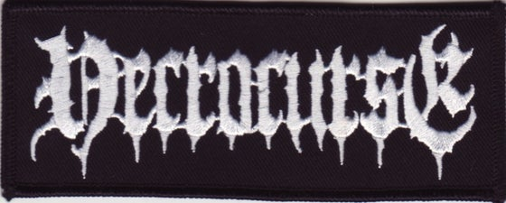 Image of NECROCURSE Quality Woven Patches