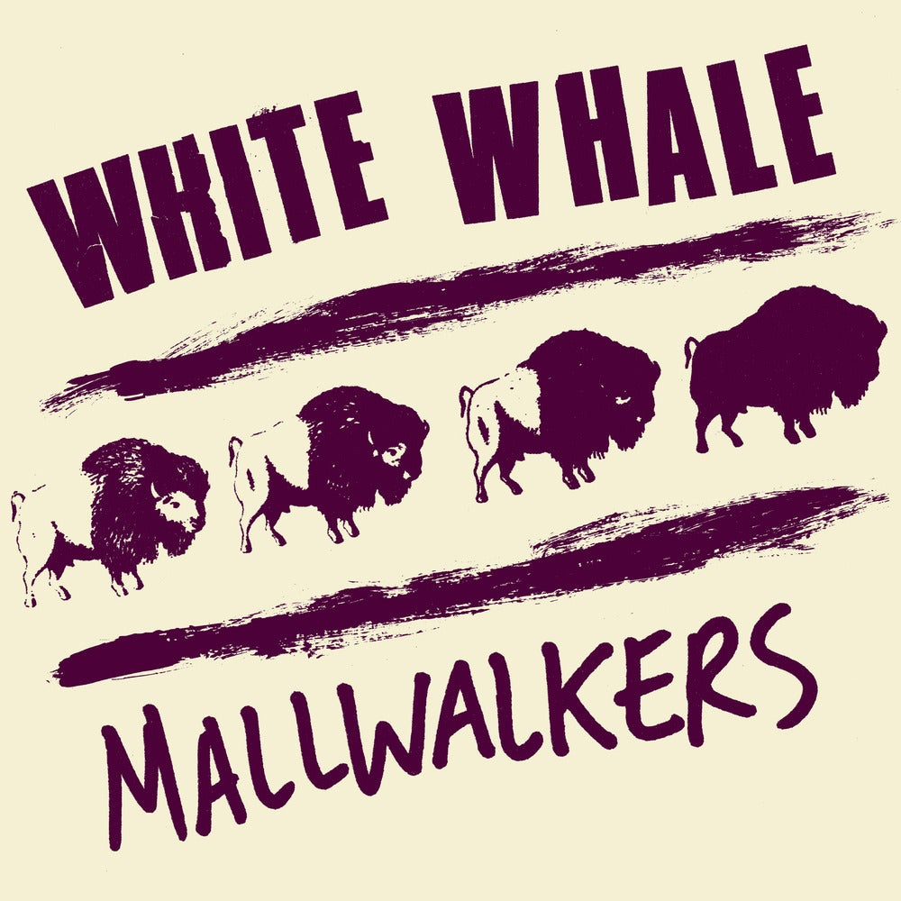 """Image of White Whale / Mallwalkers """"Split EP"""" 7"""""""