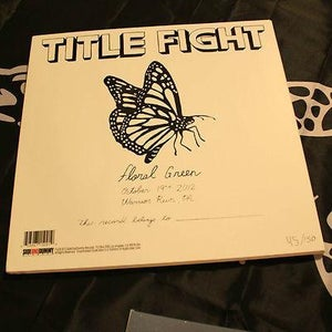 Image of Floral Green- Record Release