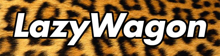 Image of 1 LazyWagon Lepoard Print Sticker