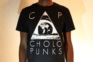 Image of Cholo Punks Logo T-Shirt