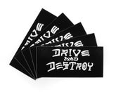 "Image of ""Drive and Destroy"" Sticker Pack (P1B-A0528)"