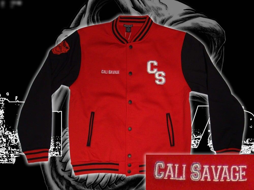 Image of Varsity Jacket - CS/Cali Savage