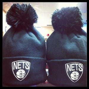 Image of Brooklyn Nets Mitchell & Ness Beanie