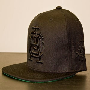 Image of *SOLD OUT* Local Icon - All Black Everything Edition Snapback
