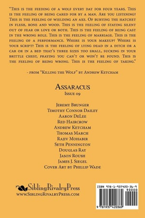 Image of Assaracus Issue 09: A Journal of Gay Poetry (Ray, Roush, Siegel)