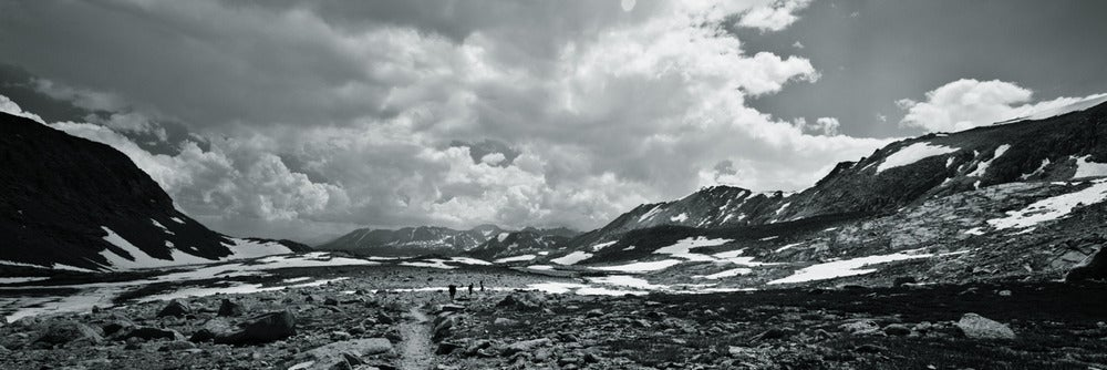Image of On the Trail - 20x60 canvas print