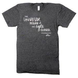 Image of Atlas Lyric Shirt (NEW!)