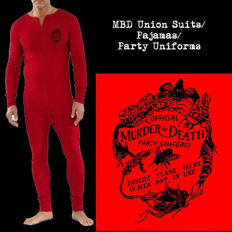 Murder By Death party uniform
