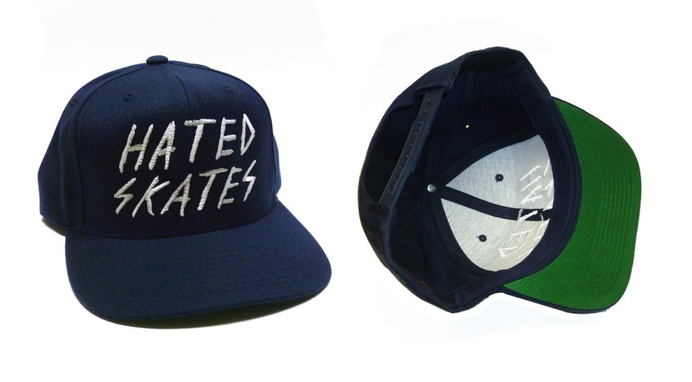 Image of Hated Skates snapback