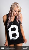 Image of Women 'B' Singlet - Black
