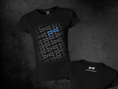 Image of Women's Slim Fit with Blue or White PD Logo