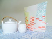 Image of Teacosy with neonprint