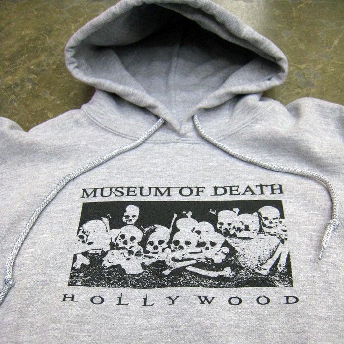 Image of Bed of Skulls Hollywood - Grey Hoodie