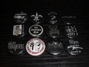 Image of sticker/button assortment