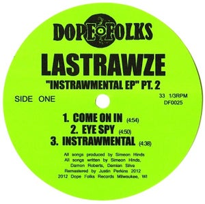 "Image of LASTRAWZE ""THE INSTRAWMENTAL EP"" PART 2 ***SOLD OUT***"