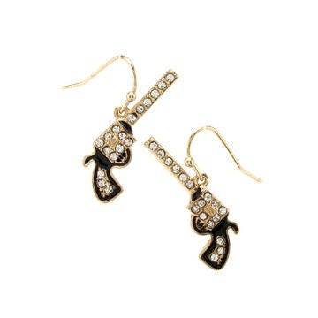 Image of Pistol Hook Earrings
