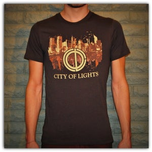 Image of Graphic Tee - Brown w/Cream City