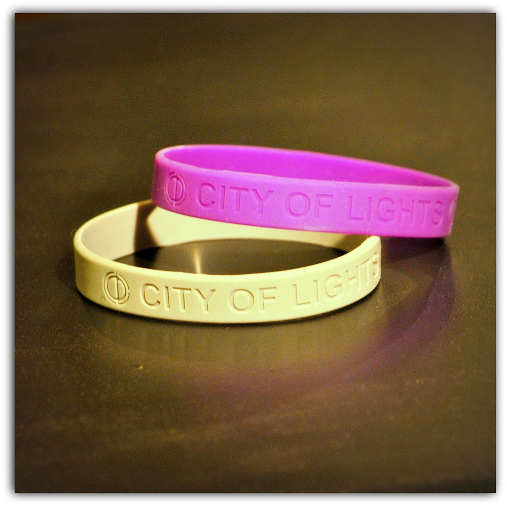 Image of CITY OF LIGHTS Wristband