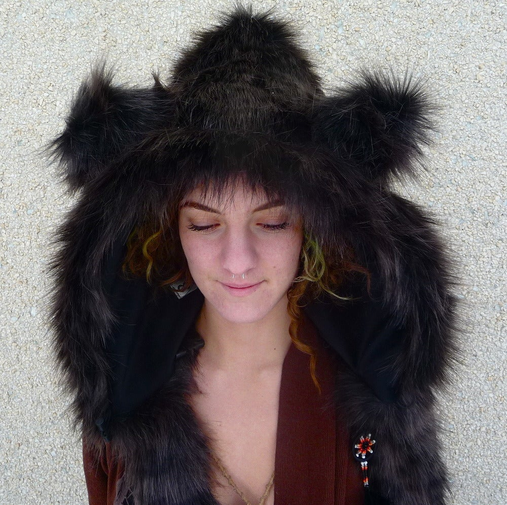 Image of Black Leopard Bolli Bear
