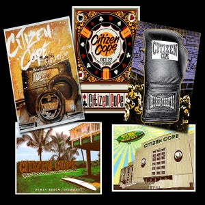 "Image of Assorted ""5"" Silk-Screen/Signed Poster Bundle"