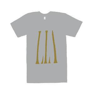 Image of Lia Ices Gold on Grey Tee