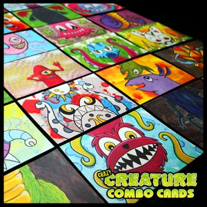 Image of Crazy Creature Combo Cards!