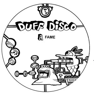 """Image of DUFFDISCO001 - Fame / Red Hot 12"""" [SOLD OUT]"""