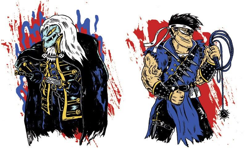 Image of Vampire Hunting Bros! Screen Print