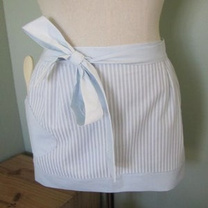 Image of Pinny Apron blue