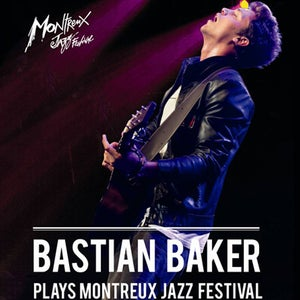 "Image of DVD ""Bastian Baker plays Montreux Jazz Festival 2012"""