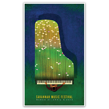 Image of 2013 Festival Poster by Brian Stauffer