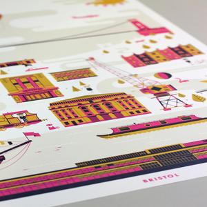 Image of NKD Bristol A2 Print